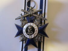 German WWI Bavaria Order of Military Merit with Swords 4th class 1914-1918