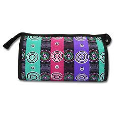 Brand New Aboriginal Art Design Toiletry Cosmetic Bag Multi Colour Purse WD-010