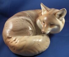 SuperCute Nymphenburg Porcelain Fox Figure Figurine Porzellan Fuchs Figur German