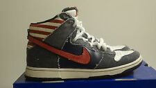 NIKE SB DUNK HIGH BRUCE SPRINGSTEEN BORN IN THE USA SIZE 9.5 VNDS