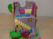 Polly Pocket Mini Spielhaus - Giraffe House - 3 Figuren Bluebird