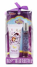 SOFIA THE FIRST 2pc Gift Set ROLL ON PERFUME+SHOWER GEL Travel Size DISNEY Kids