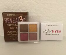 Coastal Scents Revealed 3D Palette Sampler Desert Bloom Quad & Style Eyes Travel