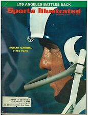 Dec 7 1970 issue Sports Illustrated Rams Roman Gabriel  Cover