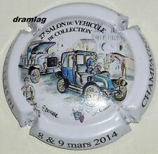 Capsule de Champagne :   BOUVY Gérard , 27ème salon véhicule collection 2014