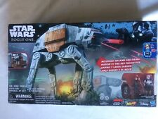 Star Wars AT-AT Play Set Rogue One Remote Control Rapid Fire Imperial Vehicle!!