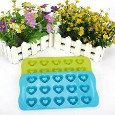 Sale Heart Cake Mold Soap Silicone Mould For Candy Chocolate Cake Kitchen