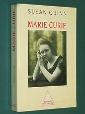 Marie CURIE Susan QUINN