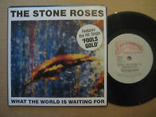 """THE STONE ROSES What The World Is Waiting For AUSSIE 7"""" SINGLE 1989 - ORE 13"""