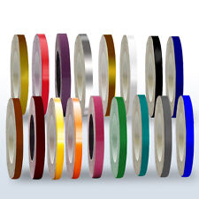 3mm x 90mtr Vinyl Pinstripe Tape Colours for Pinstripping Cars, Boats Trucks etc