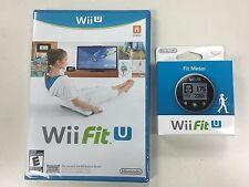 NEW  --  Wii Fit U + Fit Meter  --  Nintendo Wii U Game  * New & Sealed *