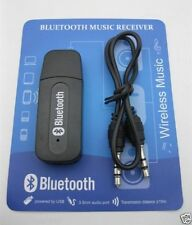 USB Bluetooth Stereo Music Receiver 3.5mm Adapter Dongle Speakers Car Mp3