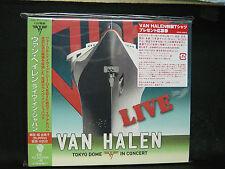 VAN HALEN Live in Japan JAPAN  2CD David Lee Roth Eddie Van Halen