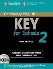 Cambridge English Key for Schools 2 Self-study Pack (Student's Book with Answers