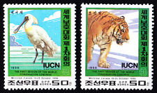 JC002Y 1996 World Wildlife Conservation Congress 2 full stamps