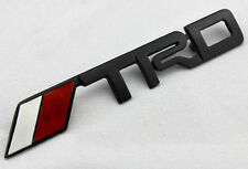 Metal Auto Front Hood Front Grille Grilles Badge Emblem For TRD Racing Sports