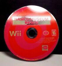 Namco Museum Remix (Nintendo Wii, 2007) NO DISC # 9647