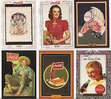 Coca-Cola Trading Card Lot of 165 Diff. Coke