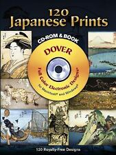 120 Japanese Prints CD-ROM and Book (Dover Electronic Clip Art) by Hiroshige Ho