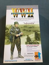 "Dragon 1/6 Scale 12"" WWII German Feldwebel Motorcyclist Johannes #70117"