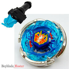 Fusion METAL Beyblade Masters BB-28 Storm Pegasus (Pegasis)+BLUE LAUNCHER+GRIP