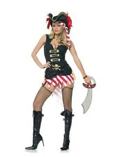 Captain Marauder Costume, 14-16, Leg Avenue, Pirate Wench, Skull, Buccaneer