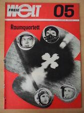 FREIE WELT 5 1969 * Bodenschätze Handball Dr. Roboter Ist das Alter lebenswert?