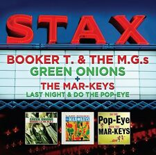 STAX - BOOKER T & THE MG`S - GREEN ONIONS + THE MAR-KEYS - LAST NIGHT (NEW 2CD)