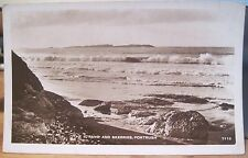 Irish RPPC Postcard PORTRUSH The Strand & Skerries Northern Ireland Scholastic