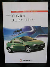 Vauxhall Tigra Bermuda Special Edition 1998 UK Market Preview Leaflet