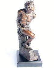 Michelangelo gefesselter Sklave Bronze Skulptur Antik Figur Dekoration Sculptur