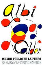 """ALEXANDER CALDER ORIGINAL LITHOGRAPH:   """"ALBI""""  EXCELLENT CONDITION--FREE S+H+I"""