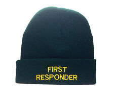 First Responder Green Woolly Hat  Ambulance Paramedic St Johns Medic