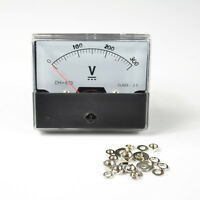 TOP QUALITY DC 0-300V ANALOG VOLT VOLTAGE PANEL METER VOLTMETER GAUGE