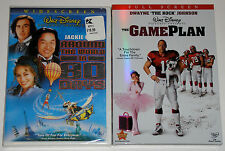 Disney DVD Lot - Around the World in 80 Days (new) The Game Plan (New)