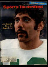 1968 SPORTS ILLUSTRATED NAMATH EYES SUPER BOWL LOT1089