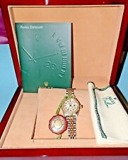 "Rolex Ladies 18kt/SS Oyster Perpetual ""Datajust"" Watch Diamond Bezel & MOP Face"