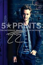 "SIGNED PP BY TOM FELTON HARRY POTTER DRACO 12x8"" POSTER PHOTO PERFECT GIFT D"