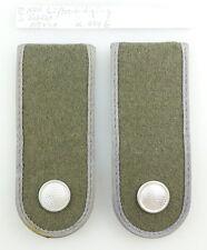 #e3589 1 Paar DDR NVA Schulterstücke Luftverteidigung Soldat Nr. 404 b