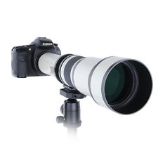 650-1300mm f/8-16 Telephoto Lens for Panasonic Olympus M4/3 DSLR Camera+ T mount