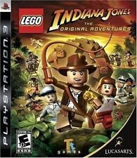 PLAYSTATION 3 PS3 GAME LEGO INDIANA JONES ADVENTURE NEW