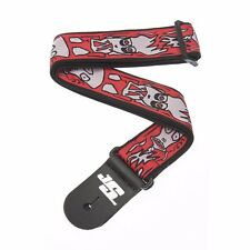 PLANET WAVES 50JS02 UP IN FLAMES JOE SATRIANI GUITAR STRAP