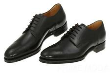 NEW GUCCI GOODYEAR BLACK WINGTIP LEATHER OXFORD LACE-UP DRESS SHOES 8/US 8.5