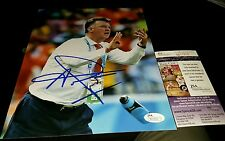 Louis van Gaal Netherlands  Coach Signed 8x10 in person JSA CERTIFIED