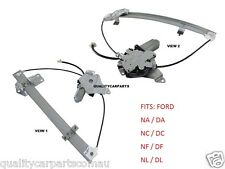 Window Regulator Ford Falcon NA NC NF NL FAIRLANE Front LH Passenger With Motor