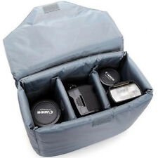 Large Waterproof DSLR SLR Camera Bag Partition Pad Insert Lens Case Cover Pouch