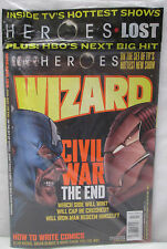 Wizard Magazine March 2007 Sealed Comics Entertainment and Pulp Culture