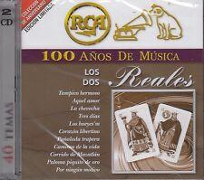 Los Dos Reales 2CD New Nuevo sealed CAJA DE 2CD