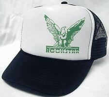 Rockstar left side Trucker Hat mesh hat snapback hat black