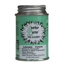 Leather Luster Pre-Cleaner Wax-Oil-Dye Remover 4 oz